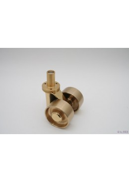 Piano roll doppia rotella
